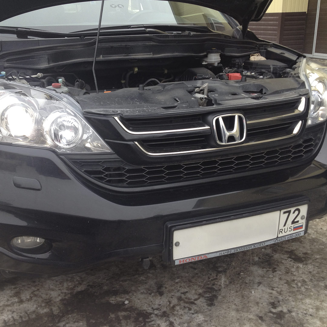 Диагностика Honda CR-V