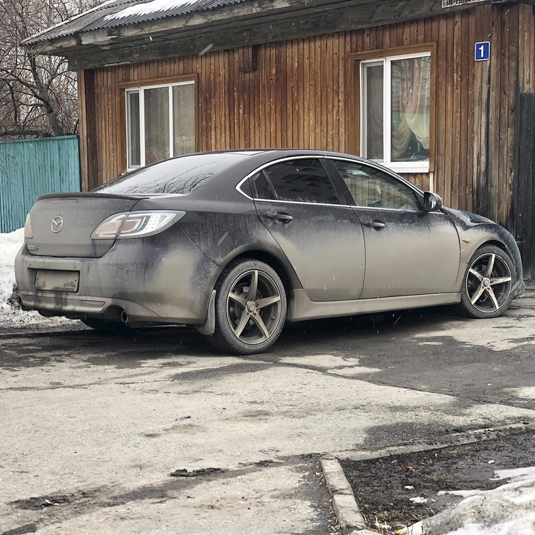 Диагностика Mazda 6