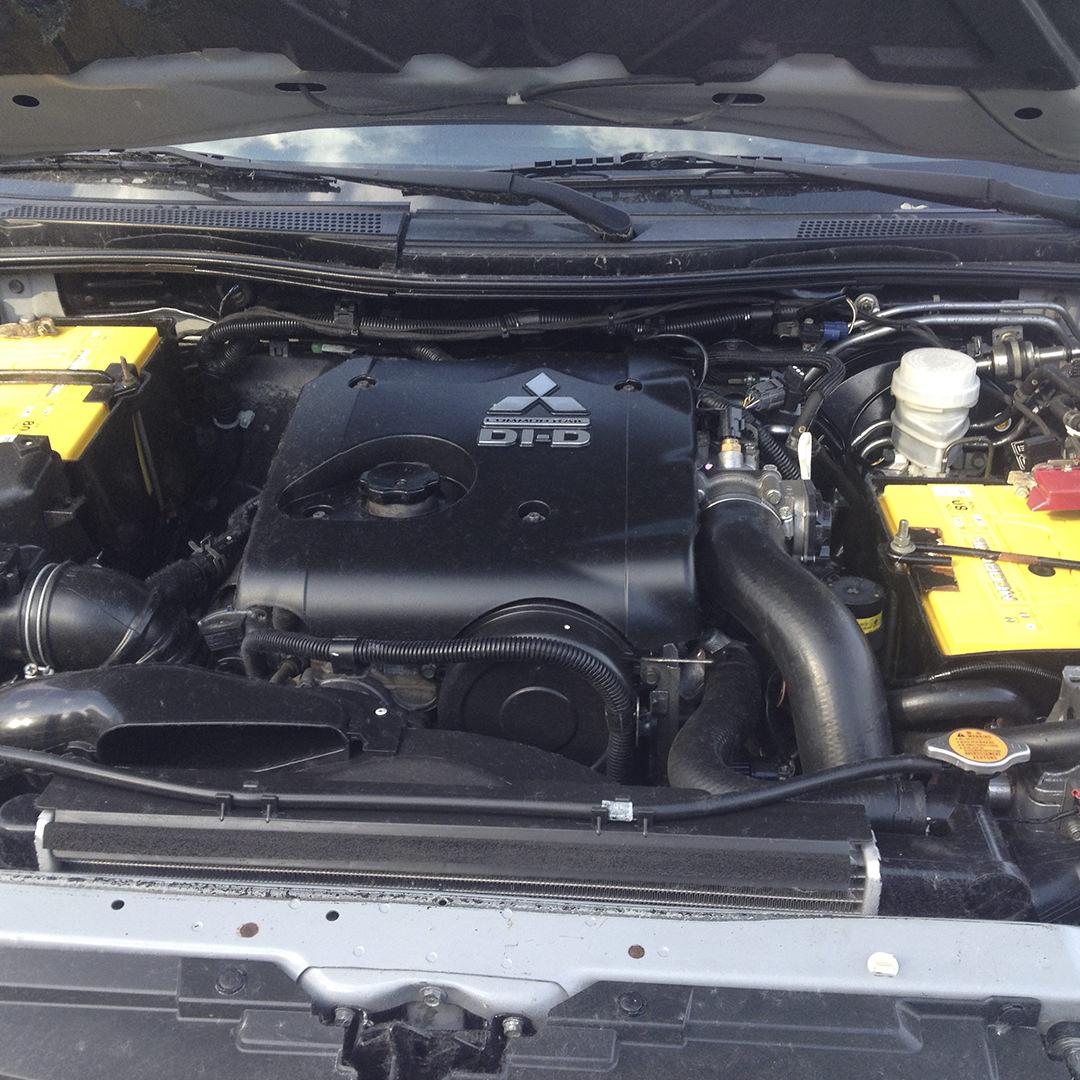 Диагностика Mitsubishi L200