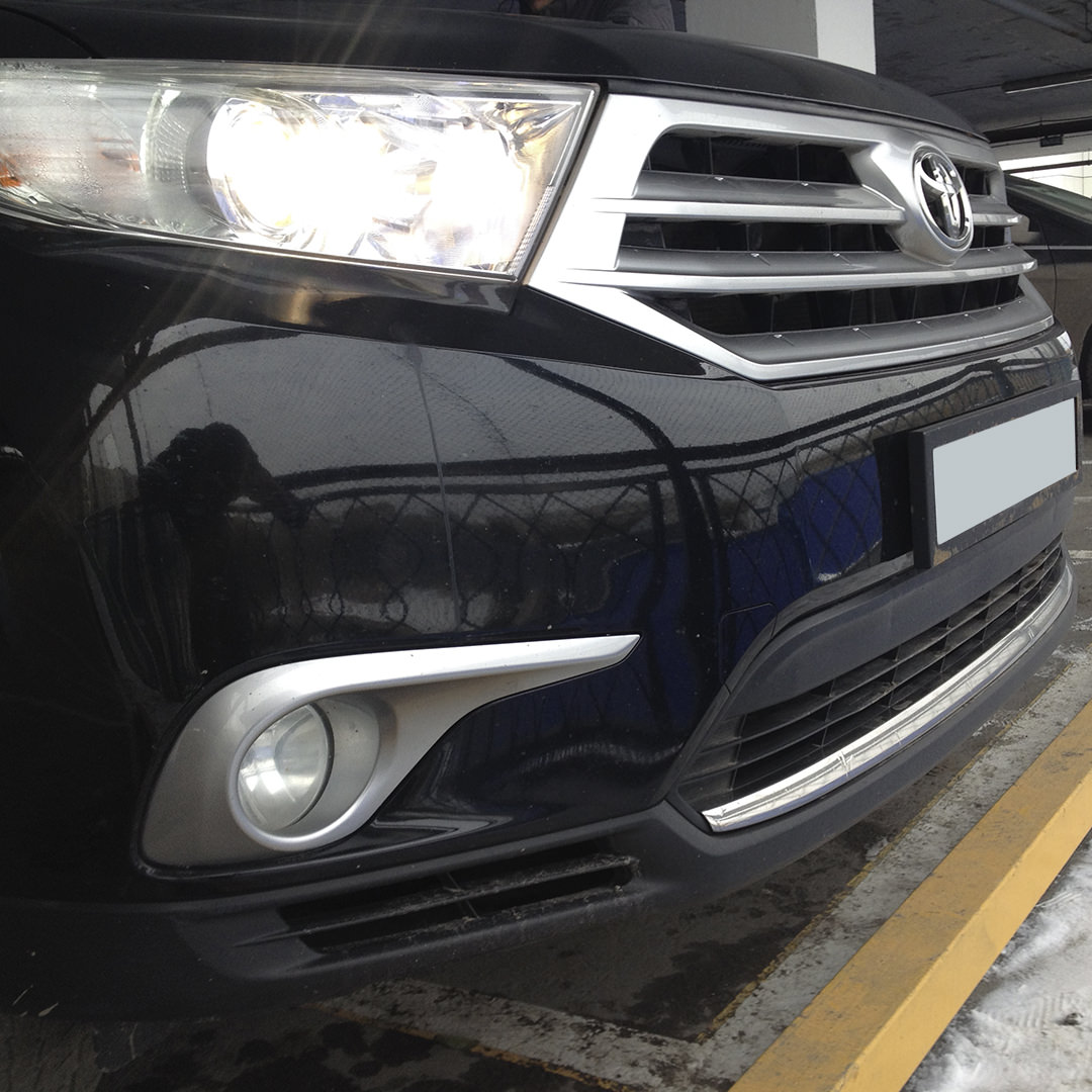 Диагностика Toyota Highlander
