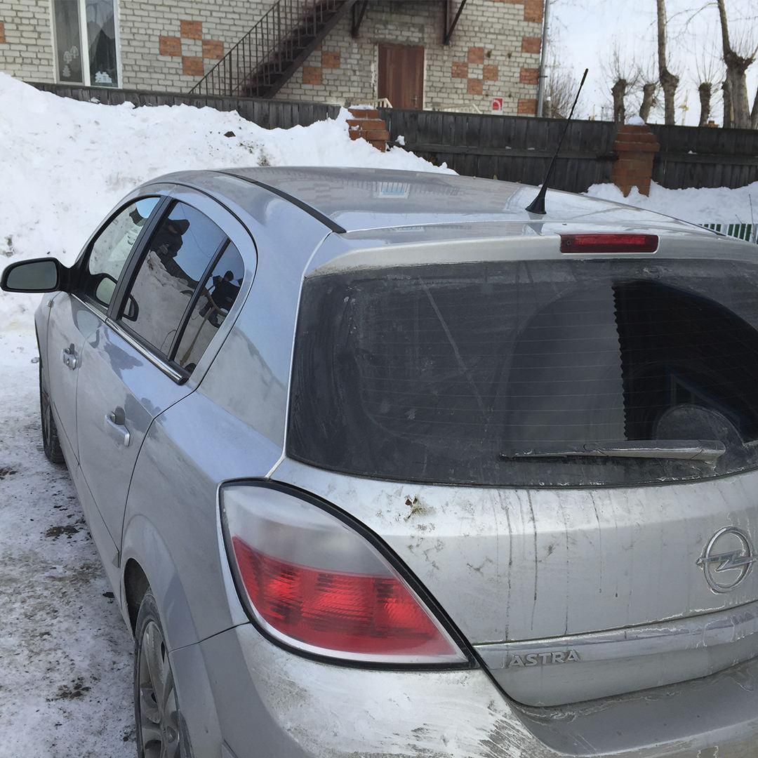 Диагностика Opel Astra