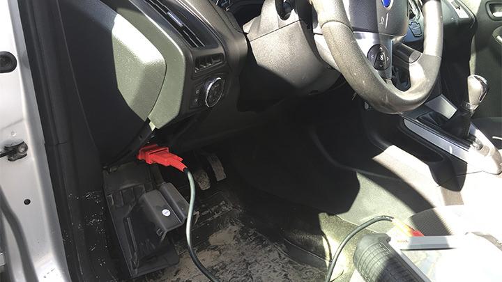Диагностический разъем Ford Focus 3