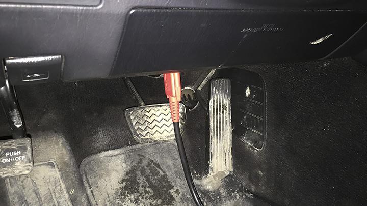 Диагностический разъем Lexus GS300