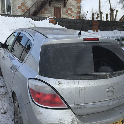 Диагностический разъем Opel Astra H
