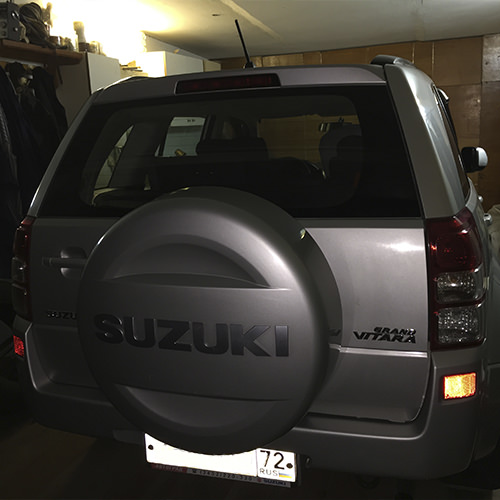 Диагностический разъем Suzuki Grand Vitara